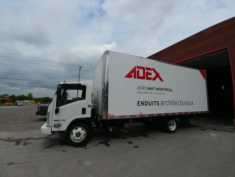 Truck Lettering - Adex Trucking